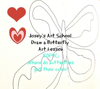 Butterflies Science and Art Lesson:Where Do Butterflies Ge