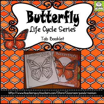 Butterfly Life Cycle Tab Booklet