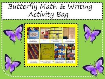 Butterflies- Take Home Literacy & Activity Bag