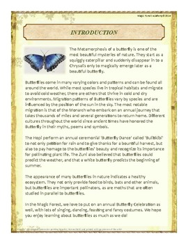 Butterflies Themed Nature Education Unit-Stage 2 (Magic Forest Academy)