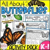 Butterflies Unit (Take Home Packet) Distance Learning