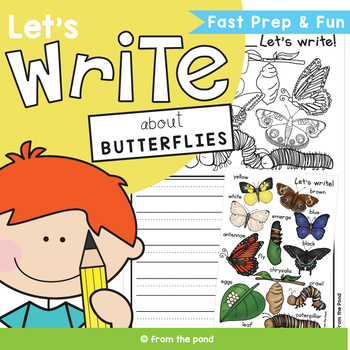 Writing about Butterflies  {Writing Prompts and Papers)