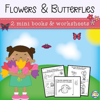 Butterflies and Flowers Mini Books