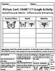 Butterflies and Moths: Picture Sort Graph Activity - Differentiated (Challenge)