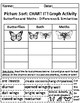 Butterflies and Moths: Picture Sort Graph Activity - Differentiated (Easier)
