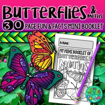 Butterflies and Moths {A booklet of activities celebrating