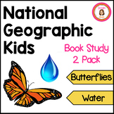 Butterflies and Water Informational Book Club Packets