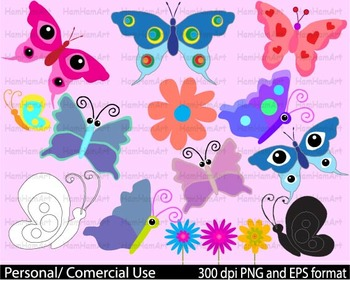 Butterflies spring school pastel outline stamp coloring we