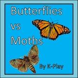 Butterflies vs Moths - a Comparison - PowerPoint Presentat