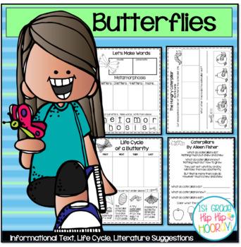 Butterflies...Text, Activities, Crafts, Reader's Theater!