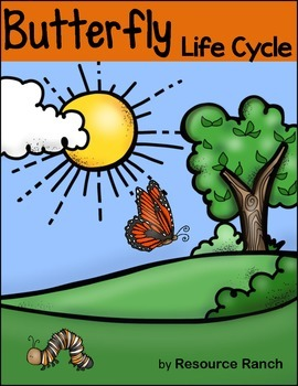 Butterfly Life Cycle Guided Reading