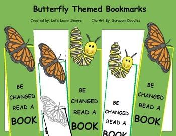 Butterflies Bookmarks