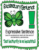 Butterfly 4 sentence types posters