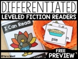 Turkey Tom A-D Leveled Fiction Readers | FREE DOWNLOAD |