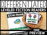 Butterfly A-D Leveled Fiction Readers | FREE DOWNLOAD |