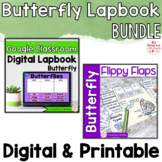 Butterfly Activities Interactive Notebook Digital and Prin