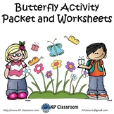 Butterfly (Life Cycle) Activity Packet and Worksheets