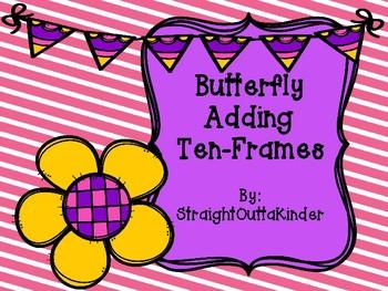 Butterfly Adding Ten-Frames