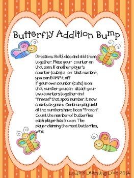 Butterfly Addition Bump Freebie