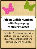 Butterfly Addition of 2-digit numbers with Regrouping