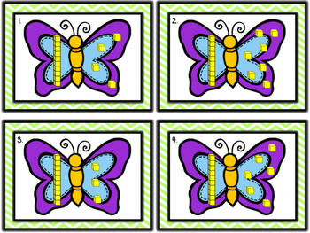 Butterfly Addition (using base ten blocks)