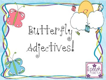 Butterfly Adjectives