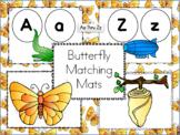 Butterfly Alphabet Matching Mats