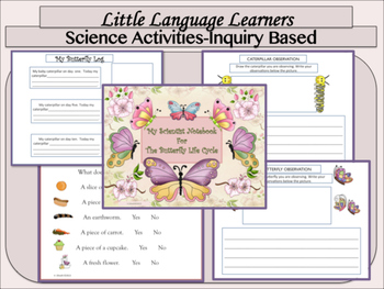 ESL Activities: Butterfly Vocabulary and Concept Development-ELL Newcomers Too!