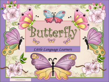 ESL Activities: Butterfly Vocabulary and Concept Developme