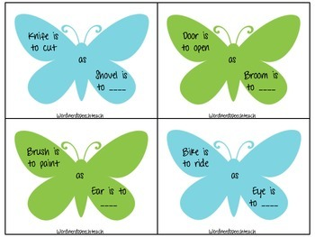 Butterfly Analogies