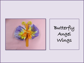 Butterfly Angel Wings Art Project
