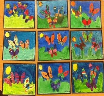 Butterfly Art - Freebie