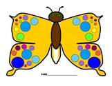 Butterfly Art Printables to Color!  Science/Math/Art