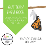 Butterfly Observation Journal: Baby Book, QR codes, and ob