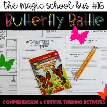 Magic School Bus - Butterfly Battle - Book Companion