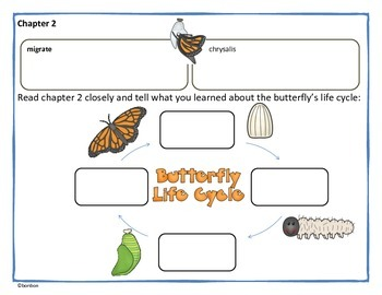Butterfly Battle - Magic School Bus Common Core Book Study