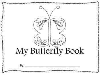 Butterfly Book -- Flash Cards -- Sequencing -- Life Cycle