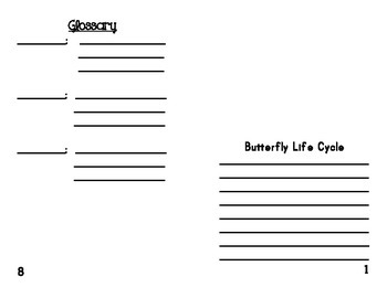 Butterfly Book Project