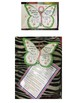 Study Tool - Butterfly Book Template & Instructions