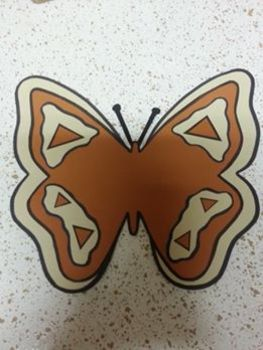 Spring Butterfly Bulletin Board