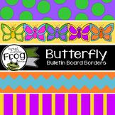 Butterfly Bulletin Board Borders