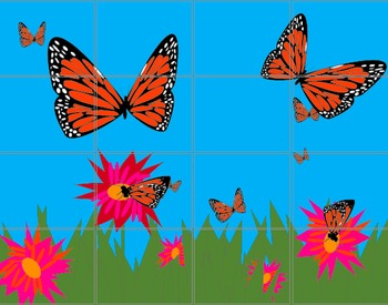 Butterfly Bulletin Board for Summer Camp