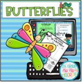 Butterfly Bundle...Interactive Google Slides and Paper Pen