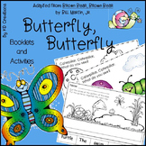 Butterfly, Butterfly for Kindergarten * Booklets * Alphabe