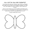 Butterfly Camouflage Activity
