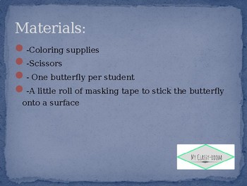Butterfly Challenge - Natural Selection Lesson Plan