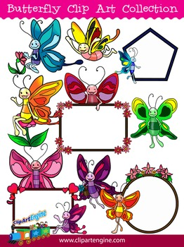Butterfly Clip Art Collection