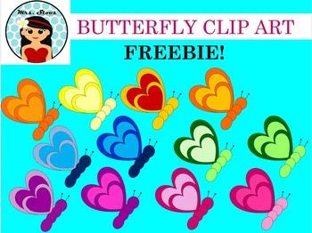 Butterfly Clip Art FREEBIE!