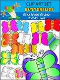 Butterfly Clip Art Freebie