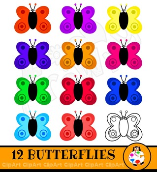 Butterfly Clip Art Insects